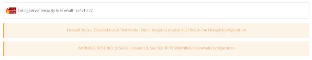 Cara atasi LFD Down di Server WHM/Cpanel