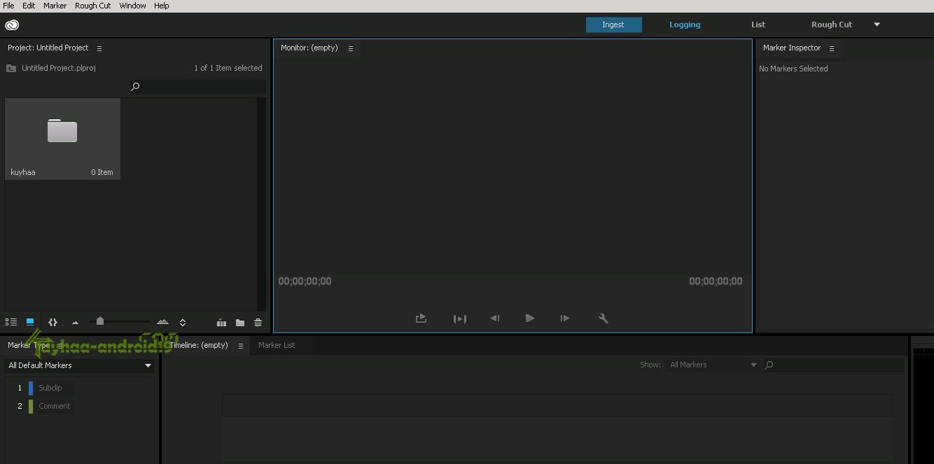 Adobe Prelude 2015 CC