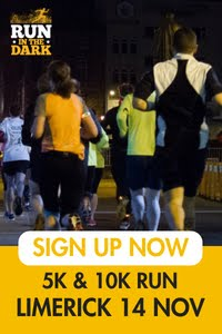 Run in the Dark 5k & 10k in Limerick City... Wed 14th Nov 2018
