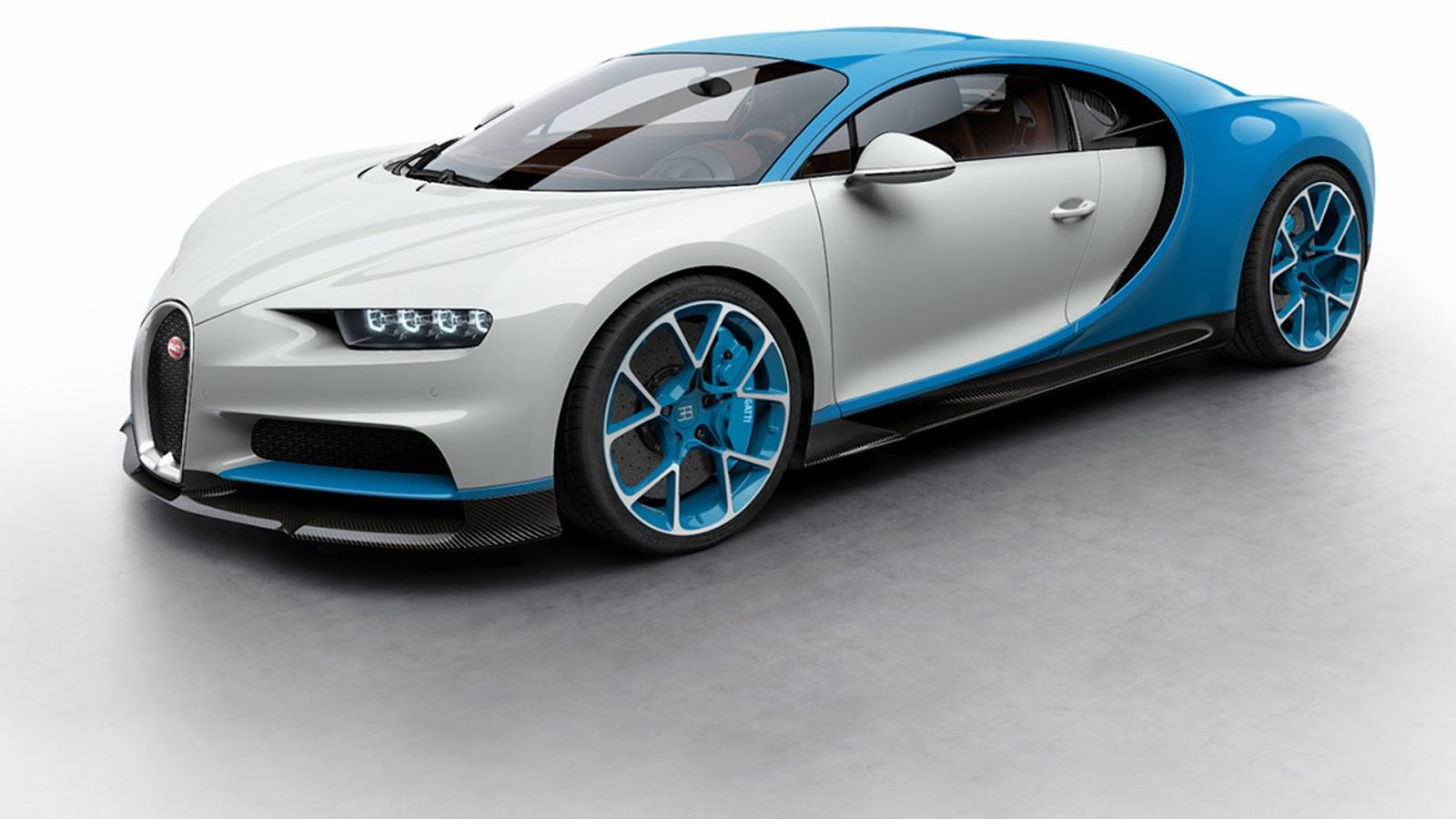 Sẽ có cực nhiều lựa chọn với Bugatti Chiron
