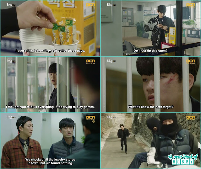 the kid told the next robbery house to gwang ho in order to leave the prison - Tunnel: Episode 4