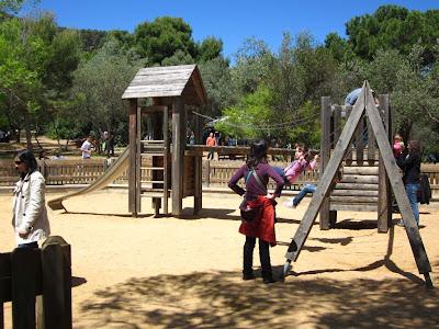 Oreneta Park in Barcelona