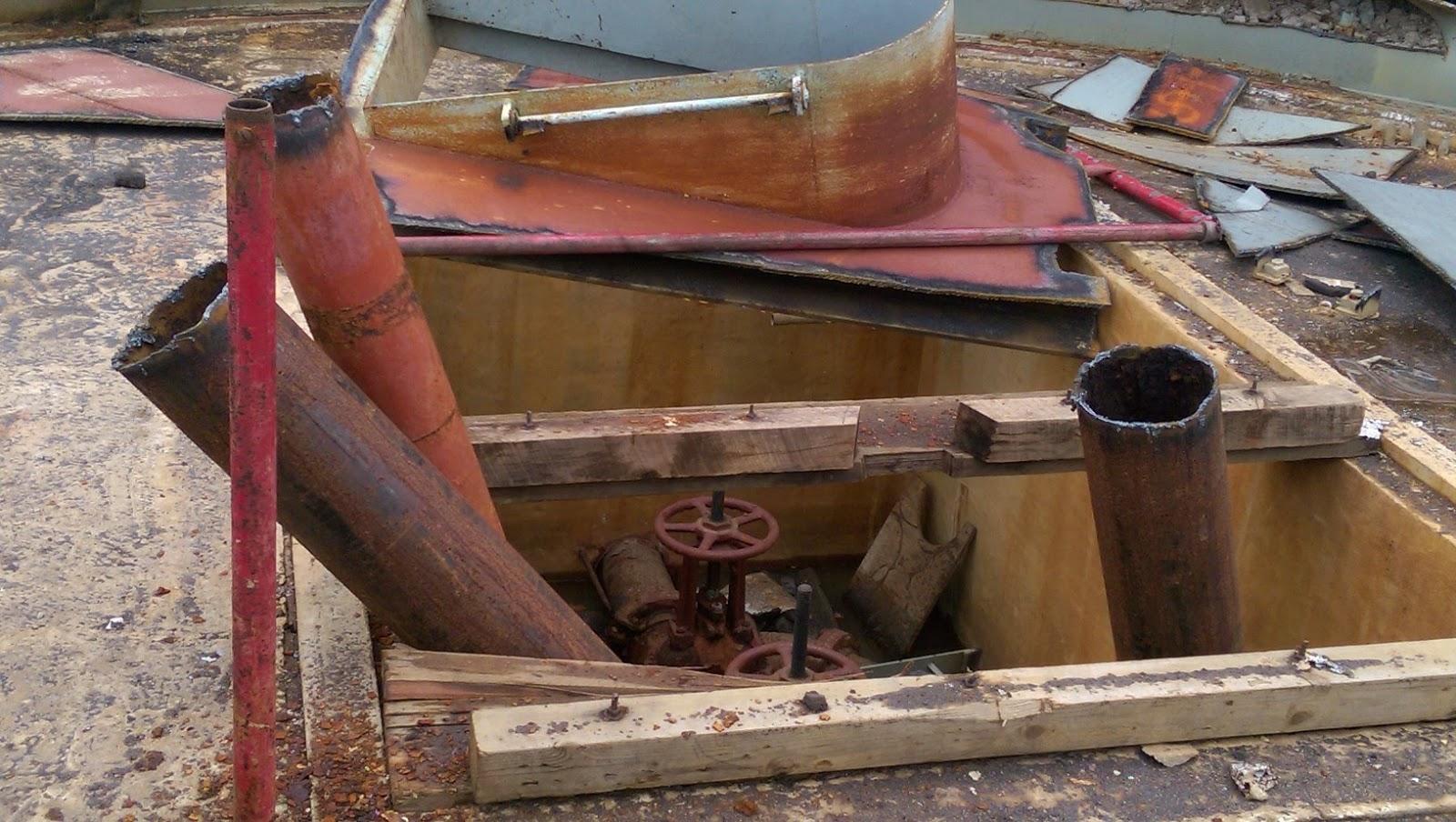 Windsor Water Tower Demolition : Pics of the demolished east windsor nj wyckoffs mill