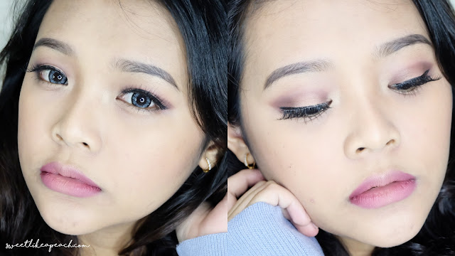 Makeup Menggunakan Produk Lokal Indonesia (Wardah, Sariayu, Emina, Makeover, dll)