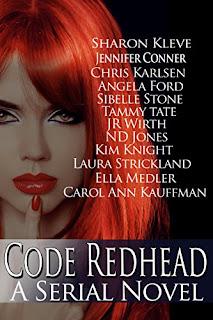 https://www.amazon.com/Code-Redhead-Serial-Sharon-Kleve-ebook/dp/B01N4NZFHC/ref=la_B005HYTQQI_1_10?s=books&ie=UTF8&qid=1505707103&sr=1-10