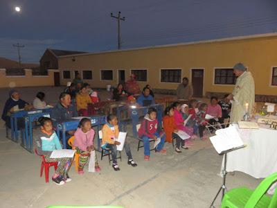 Gottesdienst in der Mine Candelaria