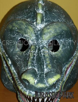 cabezudo dinosaurio creaciones istillarty