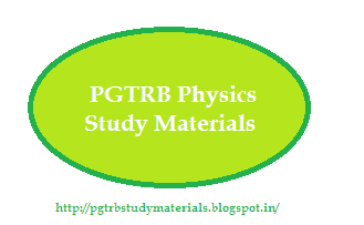 PGTRB Physics Study Materials