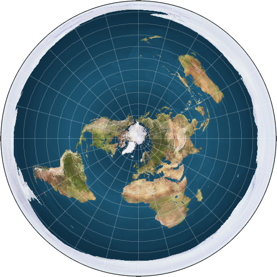 Denial, Yahudi dan Teori Flat Earth