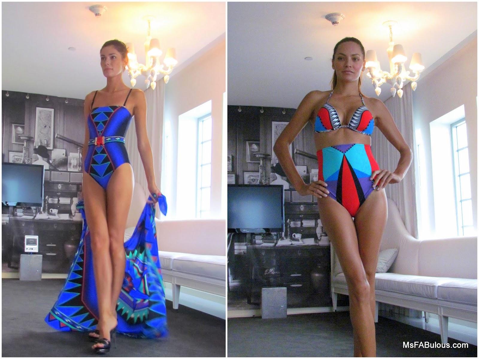 MS  FABULOUS: MIAMI FASHION WEEK: Gottex Swimwear 2013 fashion