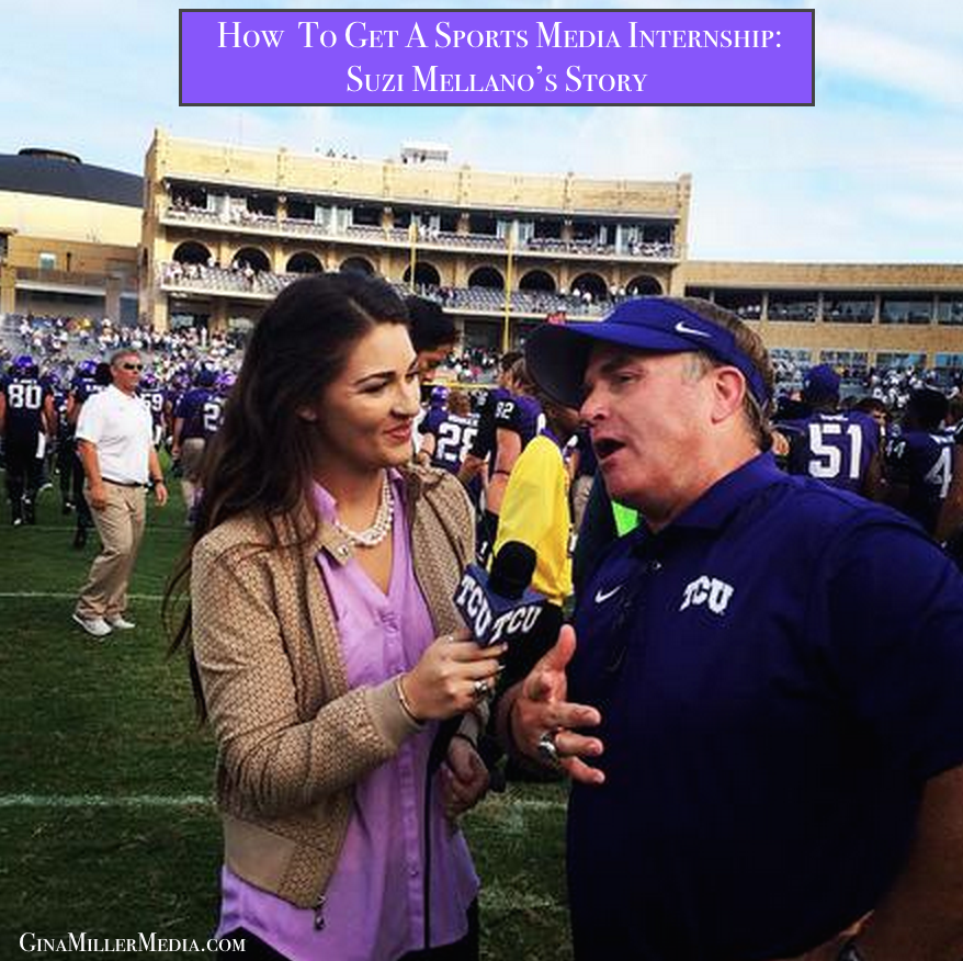 gary patterson interview, how to get a sports broadcasting internship, summer sports broadcasting internships,