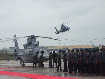 MIRAGEC14: 12 China Made Helicopters Delivered to Cambodia