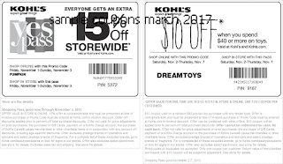 free Kohls coupons march 2017