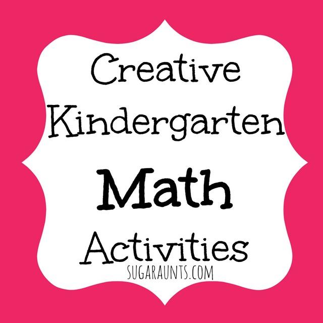 Creative Kindergarten Math ideas