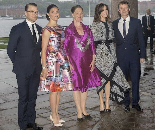 Princess Mary outfits,Alexander McQueen dress