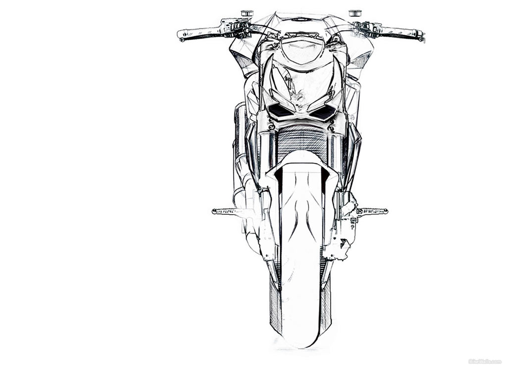 a brotherhood from zilla  download ducati streetfighter in sketch wallpapers