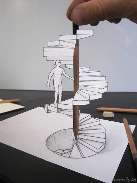 ilusi gambar 3d yang keren dan menakjubkan serta kreatif-1