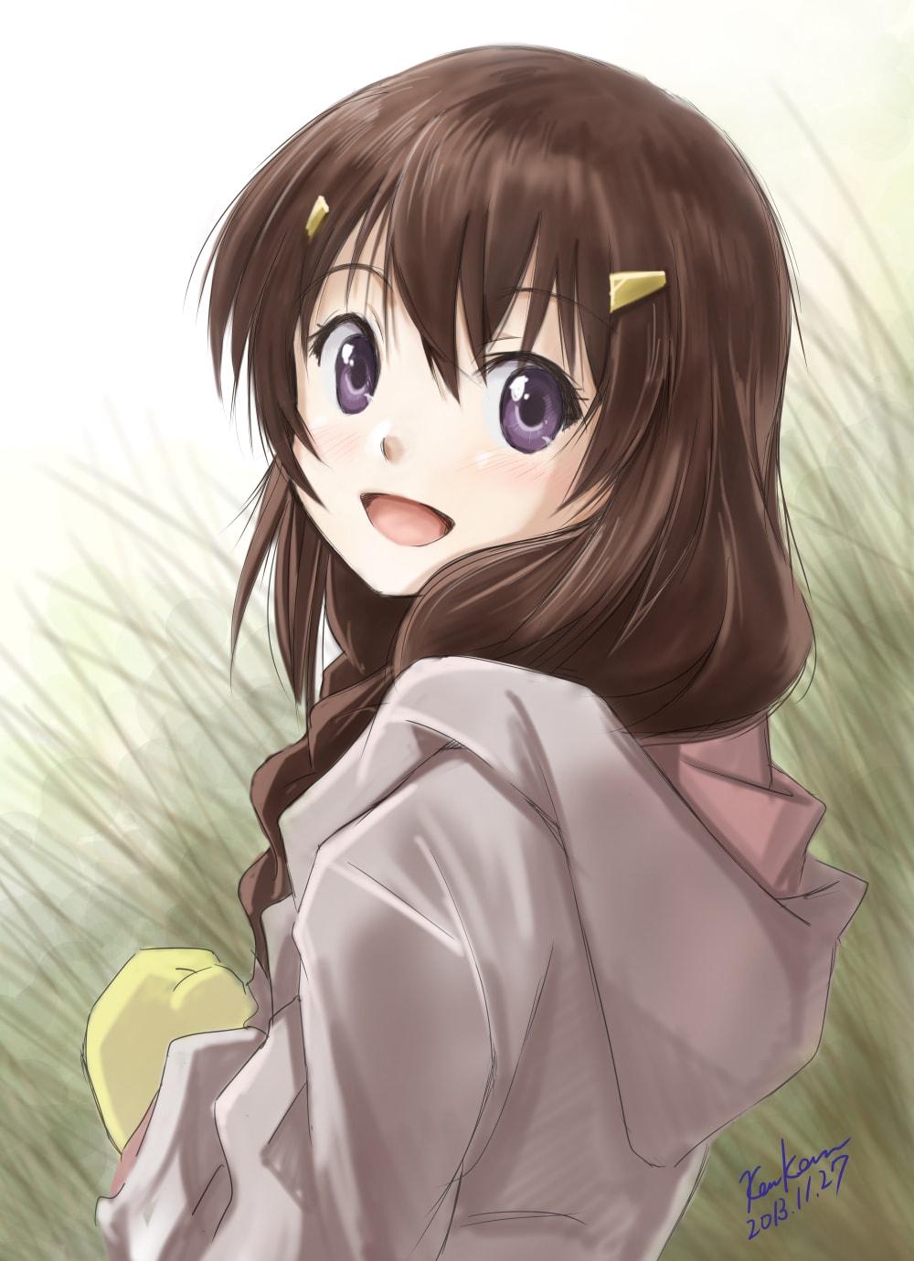 AowVN Non Non%2B%25287%2529 - [ Hình Nền ] Anime Non Non Biyori cực đẹp | Wallpaper