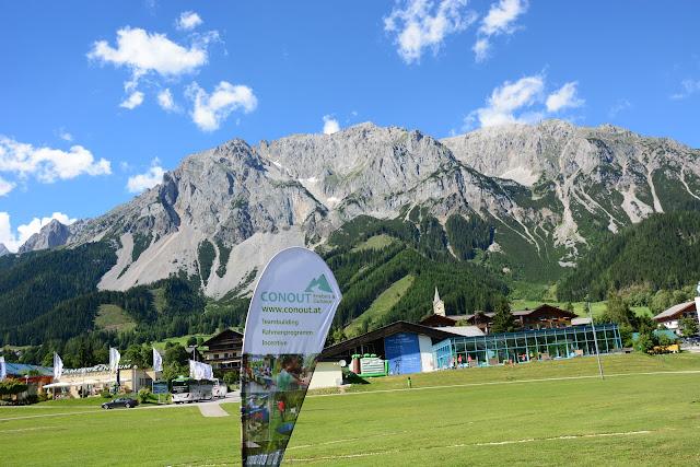 Conout Wien Österreich mit REWE in der Ramsau Steiermark 2016