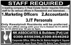 Accountant, IT, Marketing Jobs available