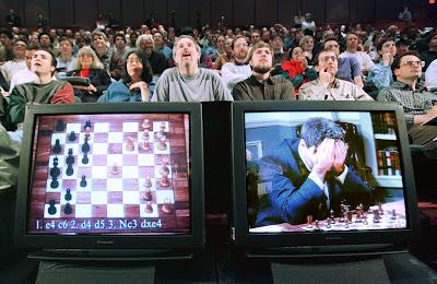 Kasparov pierde contra Deep Blue