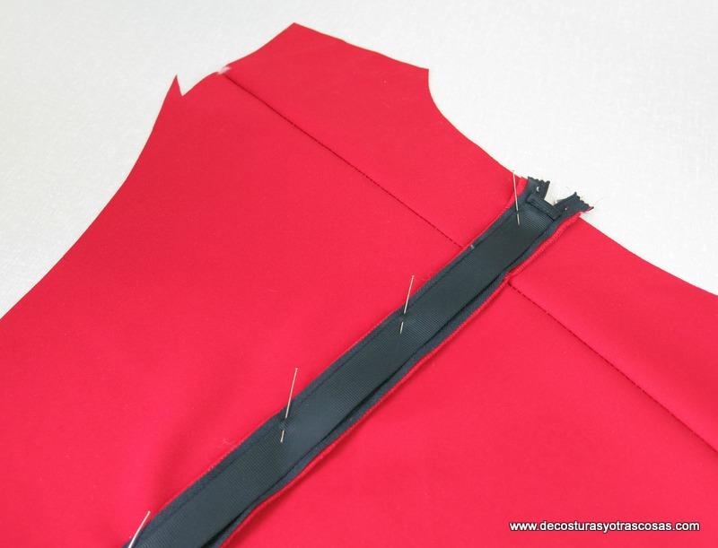 cremallera con tapeta protectora tutorial