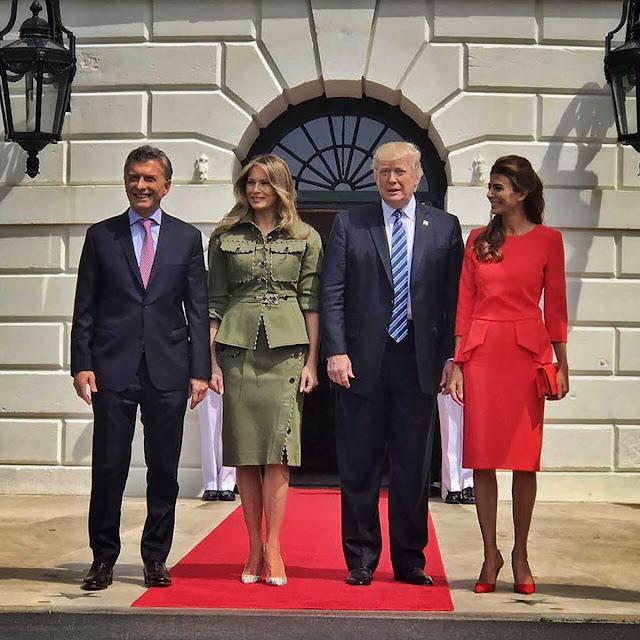 Trump le dio un fuerte apoyo a Macri en su primera cita como presidentes