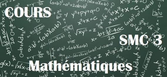 Cours de Mathematique chimie SMC semestre S3 PDF