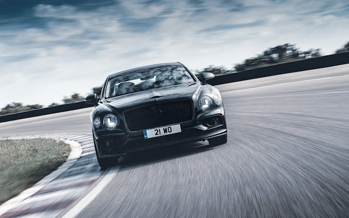 Sports sedan and luxury limousine meet in Bentley's all-new Flying Spur