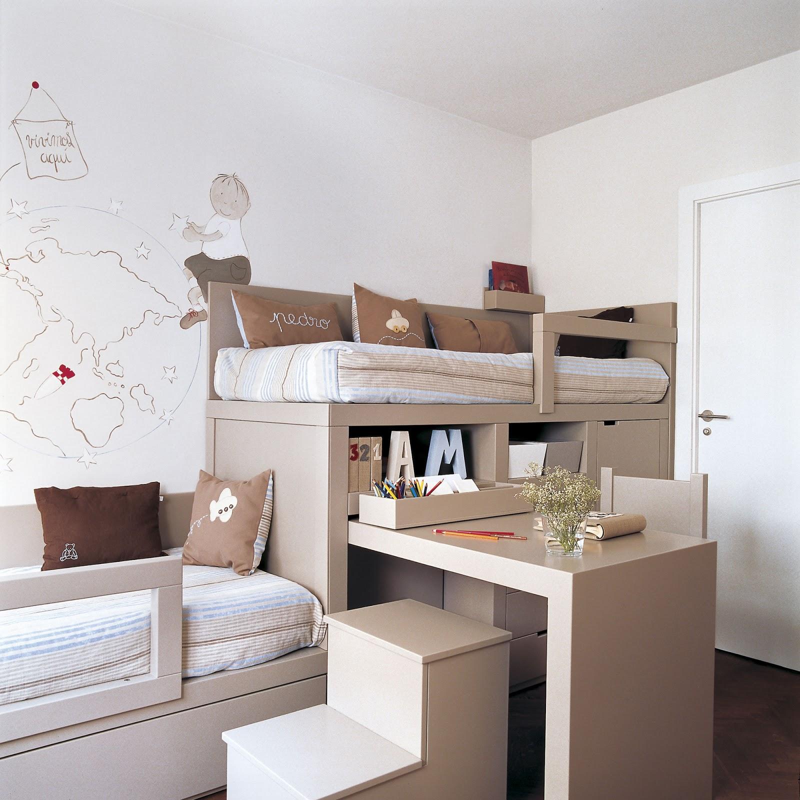 Hogar diez c mo amueblar una habitaci n infantil compartida for Programa amueblar habitacion