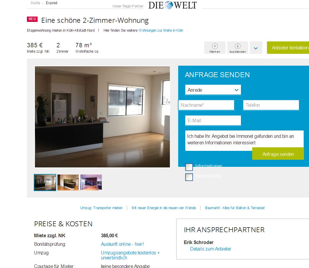 Wohnungsbetrug.blogspot.com: Flomuller7@hotmail.com Alias
