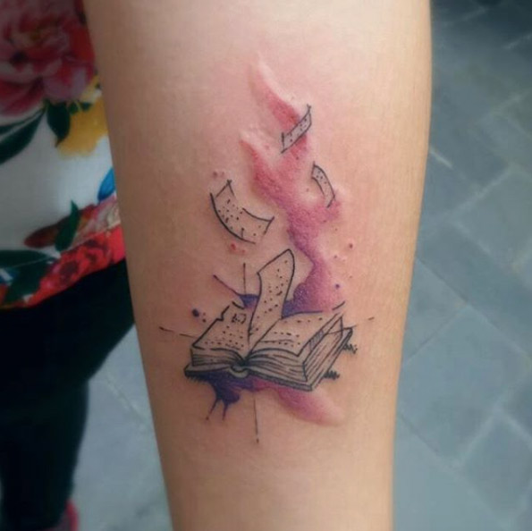 dusty pages top five book tattoo s