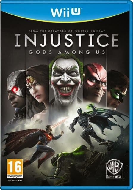 Let's Play Injustice Gods Among Us for Wii U