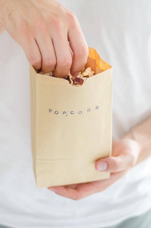 Bacon Popcorn - der perfekte TV Snack - lecker, einfach, salzig