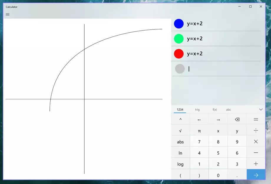 Windows 10 calculator to soon have all it takes to graph linear