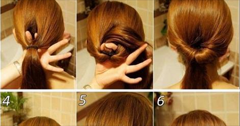 Surprising Easy Updos For Long Hair Work Short Hair Fashions Hairstyle Inspiration Daily Dogsangcom