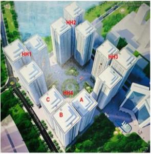 Dự án chung cư hh2a linh đàm