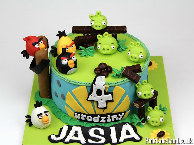 angry birds cakes london