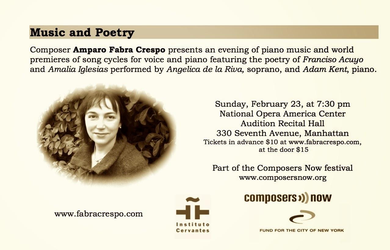 Amparo Fabra Crespo y su música, Ancile