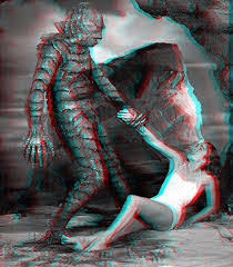 Creature From The Black Lagoon (1954) 3D anaglyph