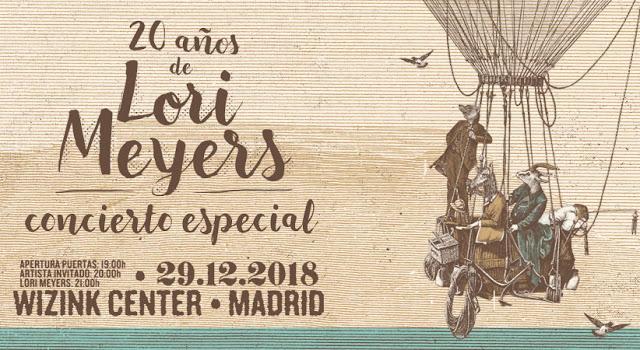 Comprar entradas Concierto Lori Meyers Madrid Diciembre 2018