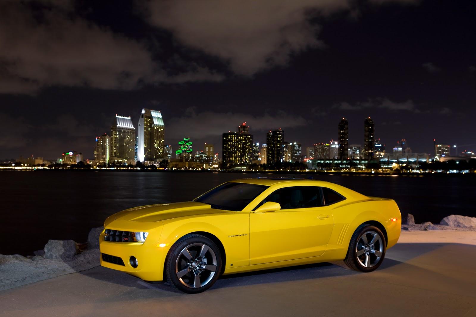 World Of Cars Chevrolet Camaro Yellow