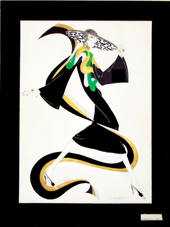 Byelisabethnl Art Art Deco Inspired Graphic Art Prints By Fashion Designer Ron Amey