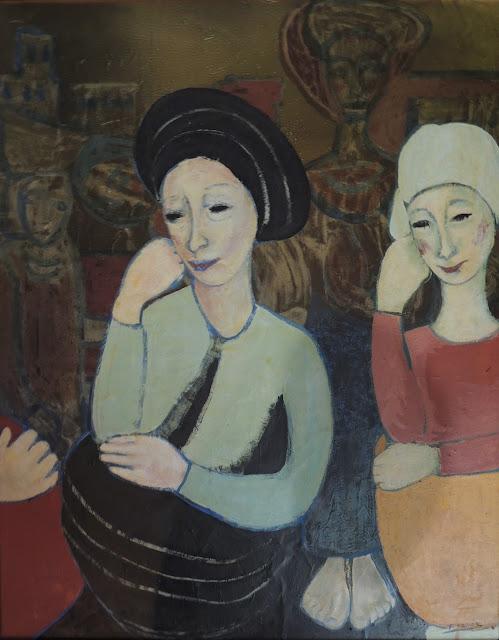 Teresa Ramón pintura al óleo