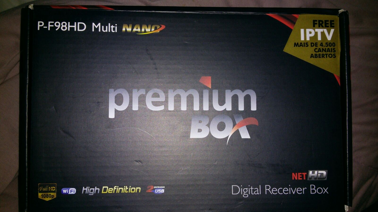 Top Five Atualização Premiumbox P F98hd Nano 2018 - Circus