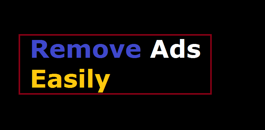 Android apps se ads (advertisment) ko kaise hataye ?