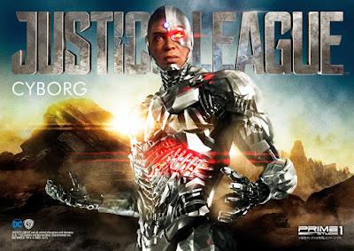 Da Justice League arriva il Cyborg della Prime 1 Studio