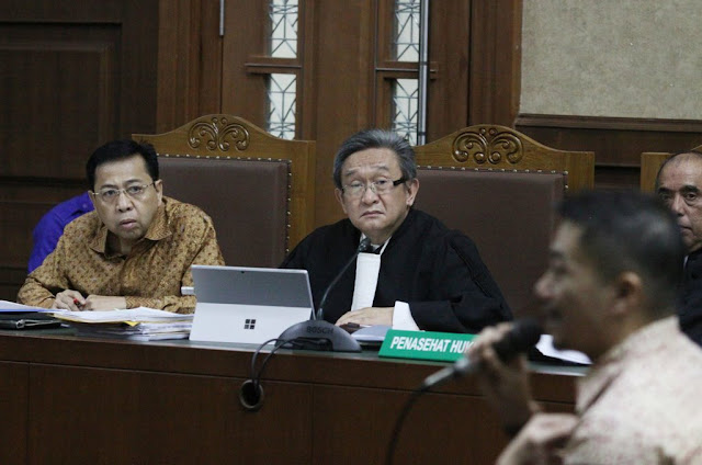 Penjelasan Maqdir Soal Rencana Novanto Ungkap Peran Pelaku Lain Korupsi e-KTP