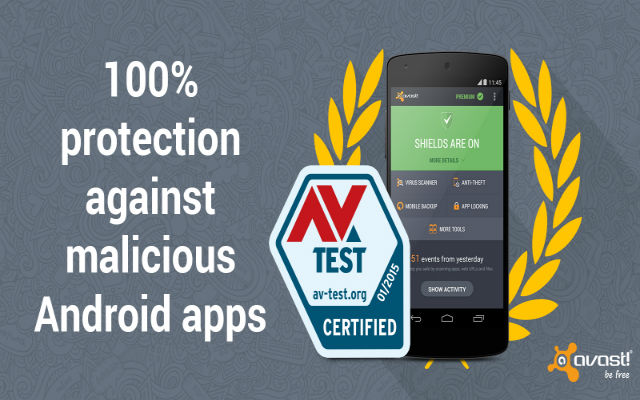 100% protection against malicious android apps