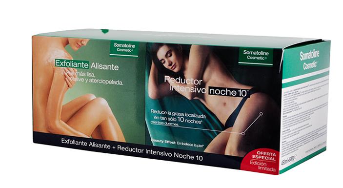Somatoline Kit Reductor Completo Exfoliante + Noche 7